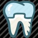 dental, dental crown, dental treatment, dentist, doodle, tooth