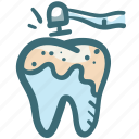 decayed tooth, dental, dentist, dentistry, oral hygiene, teeth cleaning, tooth