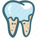 decayed tooth, dental, dental treatment, dentist, doodle, teeth cleaning, tooth icon
