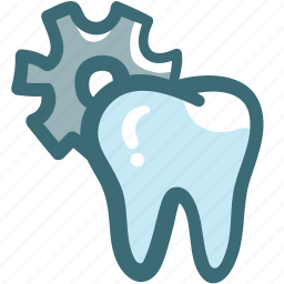 dental, dentist, dentistry, doodle, oral hygiene, tooth, tooth setting icon