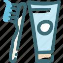 clean teeth, dental, dentist, dentistry, oral hygiene, toothbrush, toothpaste icon