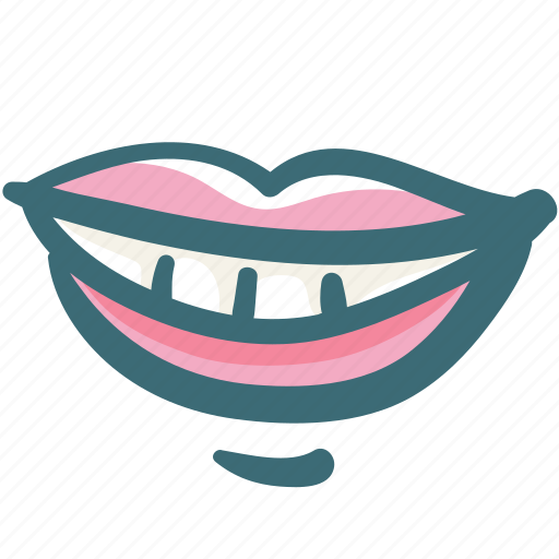 dental, dentist, dentistry, lip, mouth, smile, tooth icon