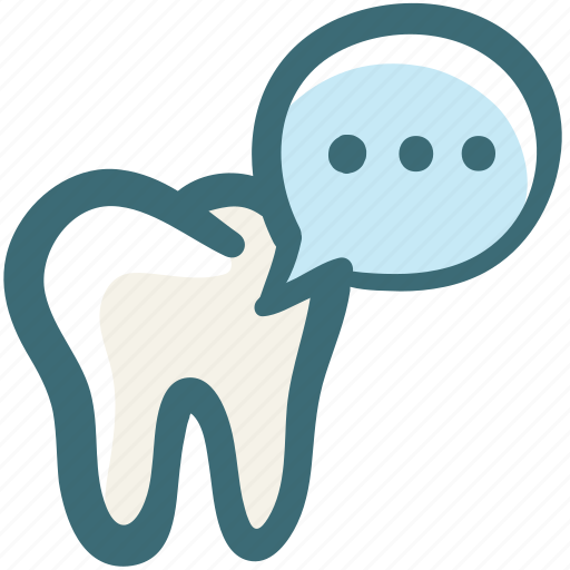care, comment, dental, discuss, doodle, feedback, message icon