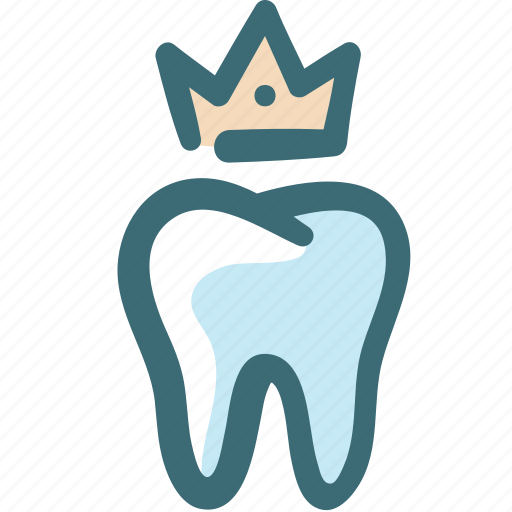 care, crown, dental, doodle, health, stomatology, tooth icon