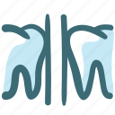dental, doodle, tooth, tooth space icon