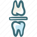 bite block, bite block bruxism, bruxism, dental, doodle icon