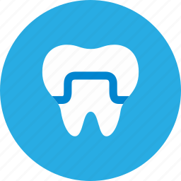 crowns, dental, dentist, health care icon