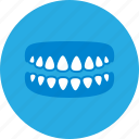 dental, dental clinic, dentist, dentures, health care icon