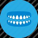 dental, dental clinic, dentist, dentures, health care icon