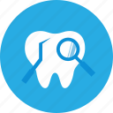dental, dental clinic, dentist, exams, health care, teeth icon