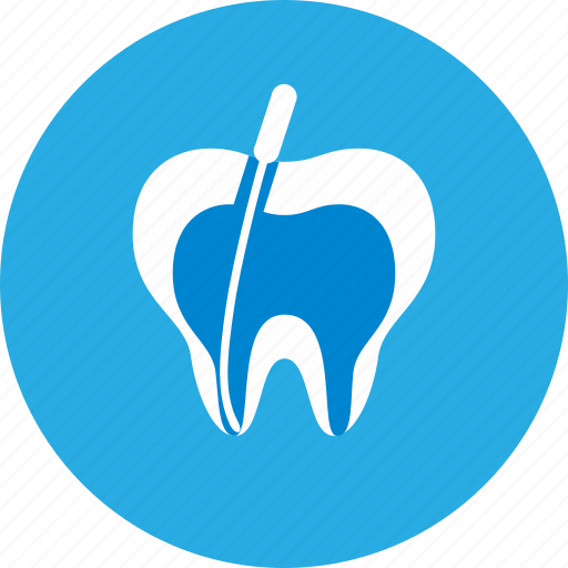 canals, dental, dental clinic, dentist, health care, root icon