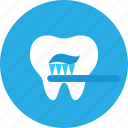 brush, cleanings, dental, dental clinic, dentist, health care icon