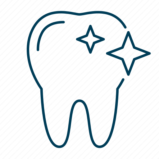 brush, clean, cleaning, tooth, whitening icon
