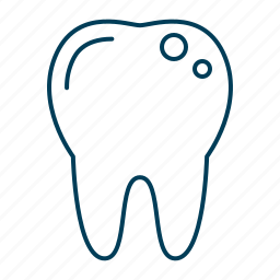 caries, cavity, decay, teeth cavities, tooth icon