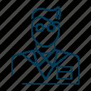 dentist, doctor, male, person, profile, user icon