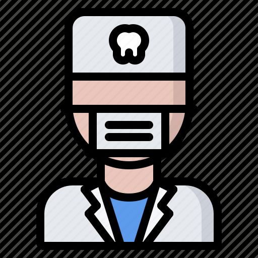 Dental, dentist, doctor, mask, medicine, tooth icon - Download on Iconfinder