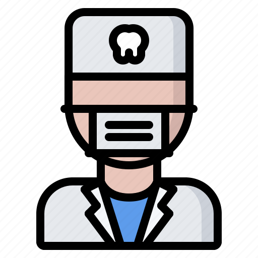 dental, dentist, doctor, mask, medicine, tooth icon