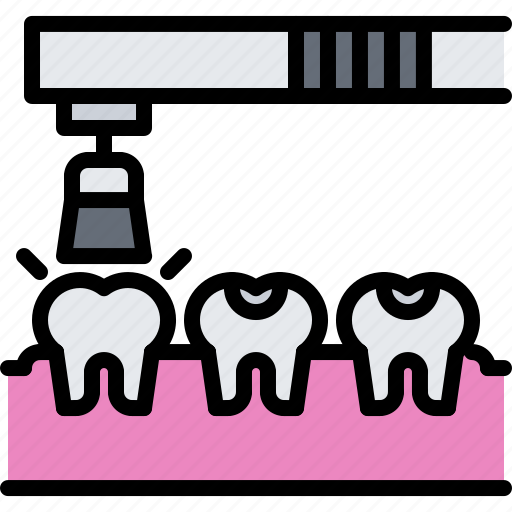 Clean, cleaning, dental, dentist, grinding, medicine, tooth icon - Download on Iconfinder