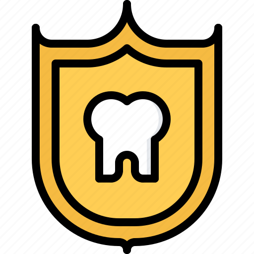 Dental, dentist, medicine, protection, shield, tooth icon - Download on Iconfinder