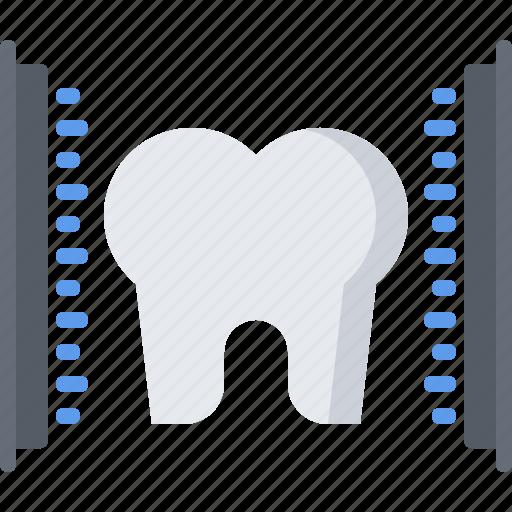 dental, dentist, medicine, scan, scanning, tooth icon