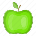 apple, food, green, nature icon