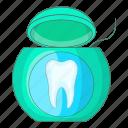 dental, dentist, floss, string
