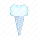 dental, dentist, implant, tooth icon