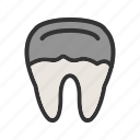 cavity, decay, dental, dentist, medical, teeth, tooth icon