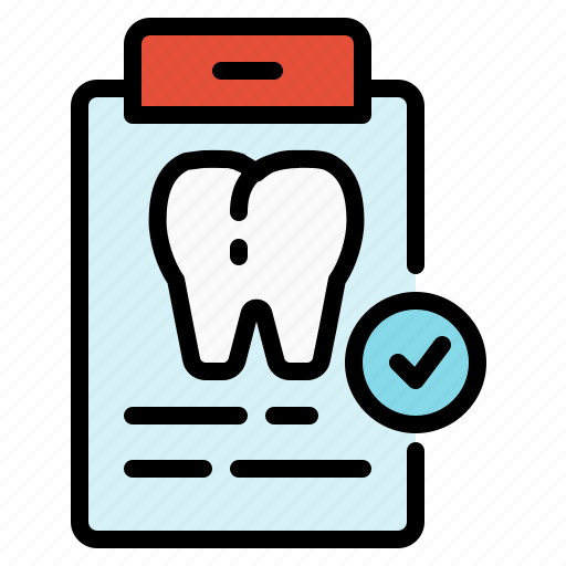checkup, data, dental, information, teeth, tooth, treatment icon
