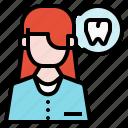 avatar, doctor, face, female, profile, user, women