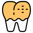 decay, dental, dentist, health, teeth, tooth icon