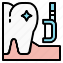 dental, dentist, health, hygiene, teeth, tooth icon