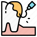 dental, dentist, health, scalin, teeth, tooth icon