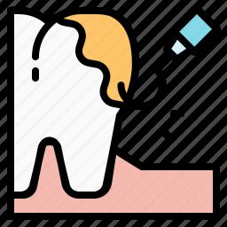 dental, dentist, health, scalin, teeth, tooth icon