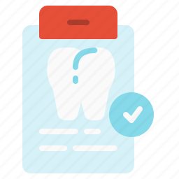 checkup, data, dental, information, teeth, tooth, treatment icon