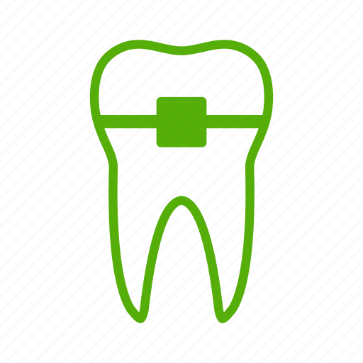 braces, dental, dentistry, doctor, healthcare, stomatology, tooth icon