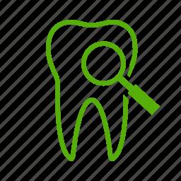 dental, dentistry, examination, health, healthcare, medical, tooth icon