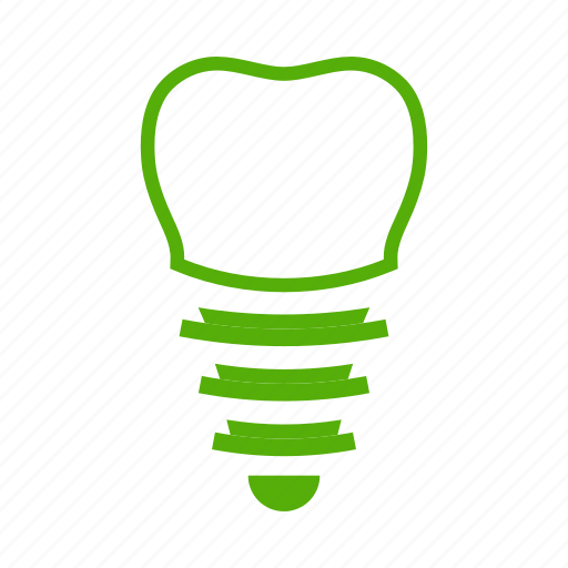 dent, dentistry, doctor, healthcare, implant, medicine, treatment icon