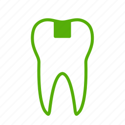 dental, dentistry, healthcare, inlay, stomatology, tooth icon