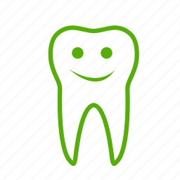 dental, dentist, dentistry, happy, smile, smiley, tooth icon