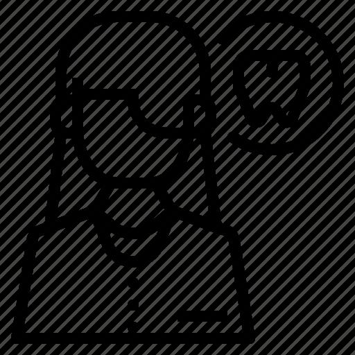 avatar, doctor, face, female, profile, user, women icon