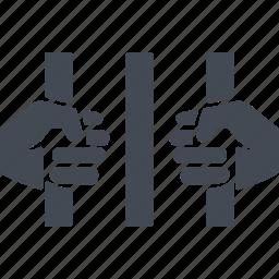 deportation, deportations, hands, lattice icon