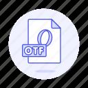 design, digital, file, font, open, otf, type