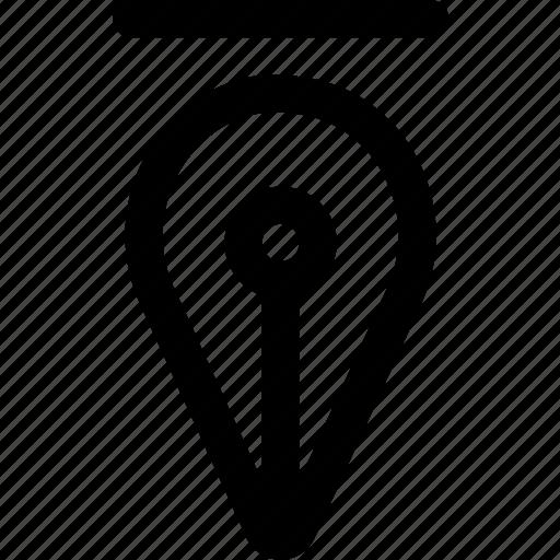 Art, design, graphic, illustration, pen, tool icon - Download on Iconfinder
