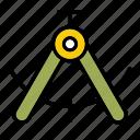 compass, graphic design, tool