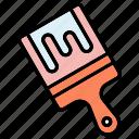 paint, graphic design, brush