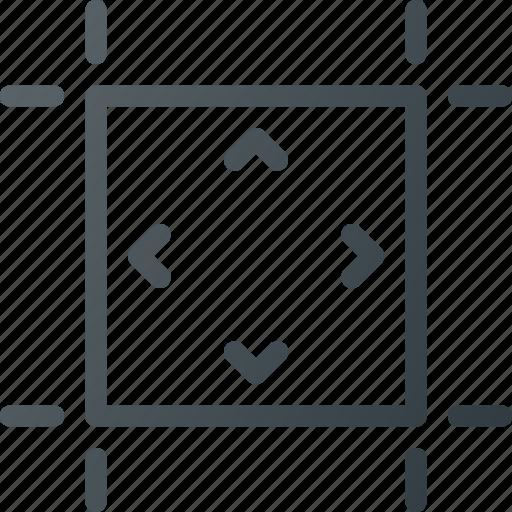 align, artboard, canvas, object, sheet icon