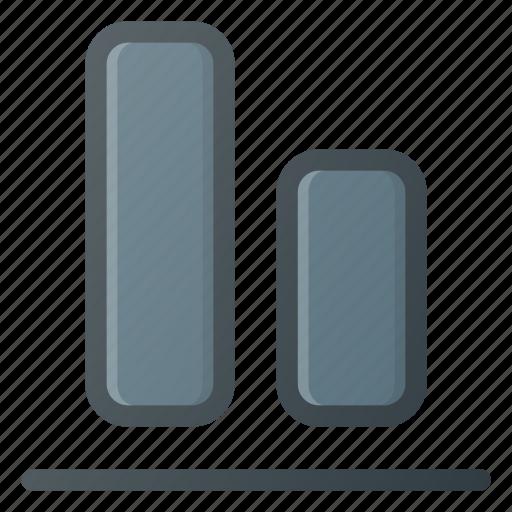 align, bottom, object icon