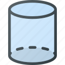 cylinder, geometry, object icon