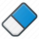 clean, clear, eraser, gum, rubber icon